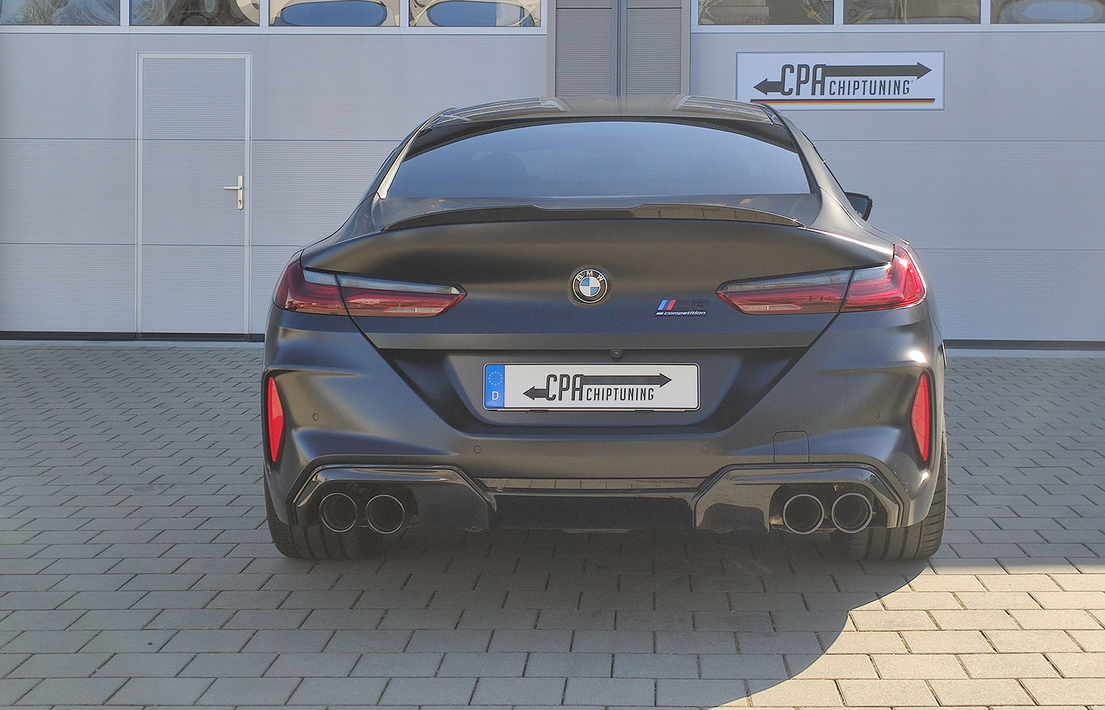 BMW 8er (G15) M8 Competition xDrive chiptuning